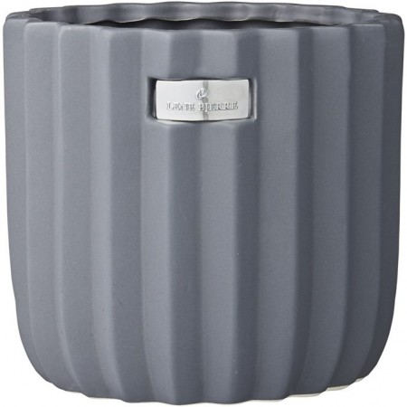 Lene Bjerre Paula Flower Pot Smoked Grey Large