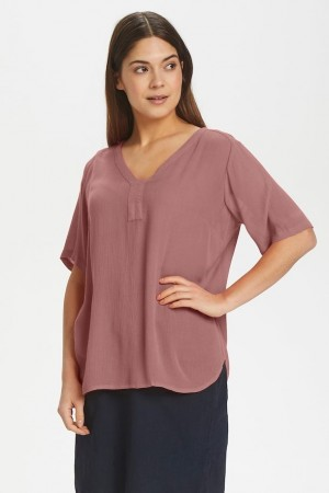 Amber Blouse Old Rose