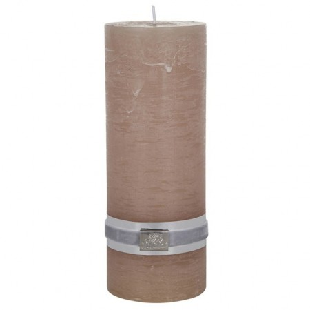Lene Bjerre Candle Rustic Large Brun Sand