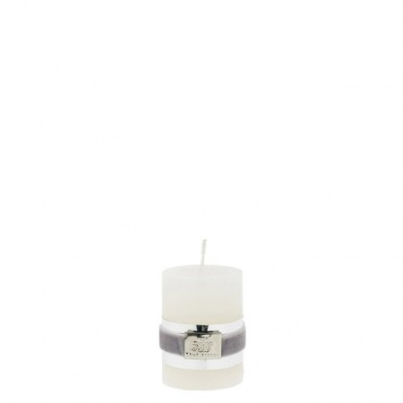 Lene Bjerre Candle Rustic Small Off White