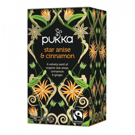 Pukka Te Star Anise And Cinnamon