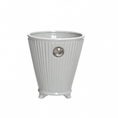 Lene Bjerre Coliette Coll Flower Pot Medium White