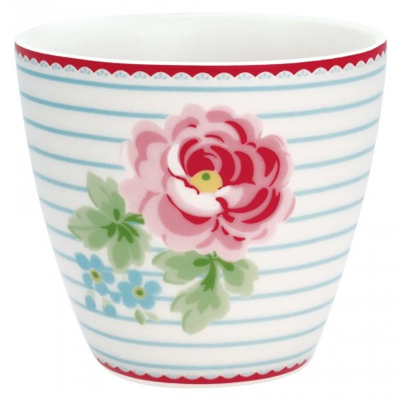 Greengate Latte Cup Lilly White