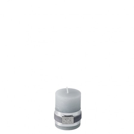 Lene Bjerre Candle Rustic Small L.grey