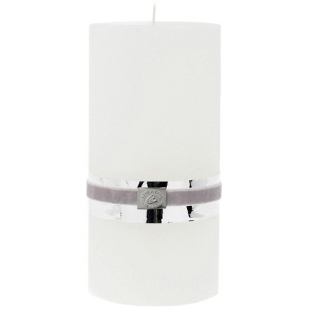 Lene Bjerre Candle Rustic X-large White