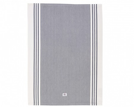 Lexington Oxford Striped Kitchen Towel Navy