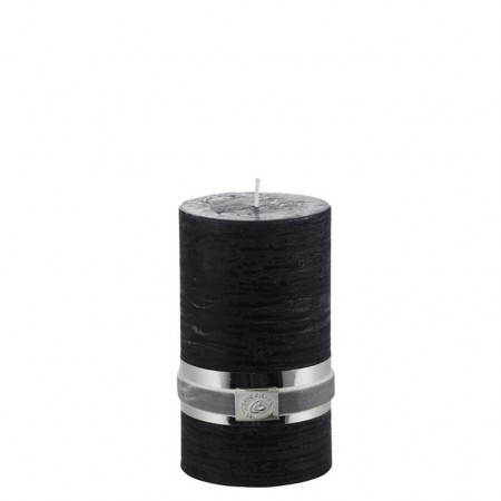 Lene Bjerre Candle Rustic Medium Black