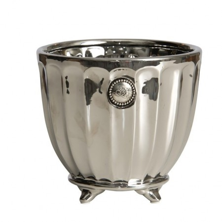 Lene Bjerre Flower Pot Notilde Silver Large