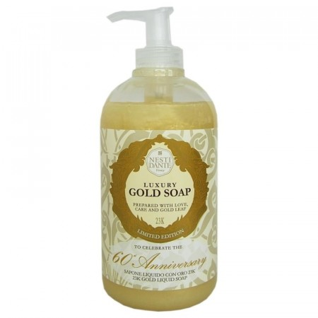 Nesti Dante Gold Hand & Face Soap Pumpe