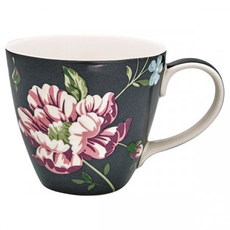 Greengate Penelope Mug Dark Grey