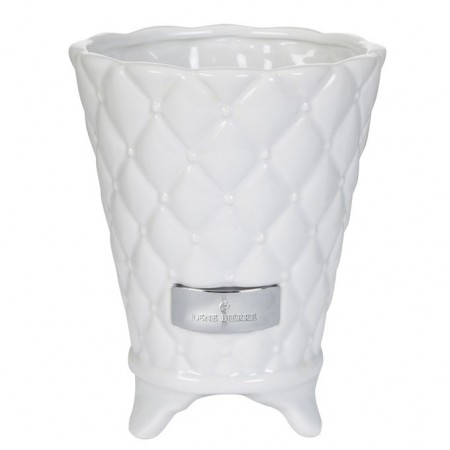 Lene Bjerre Flower Pot Precious White Medium 15cm