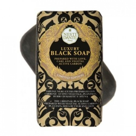 Nesti Dante Luxury Black Soap 250 Gr