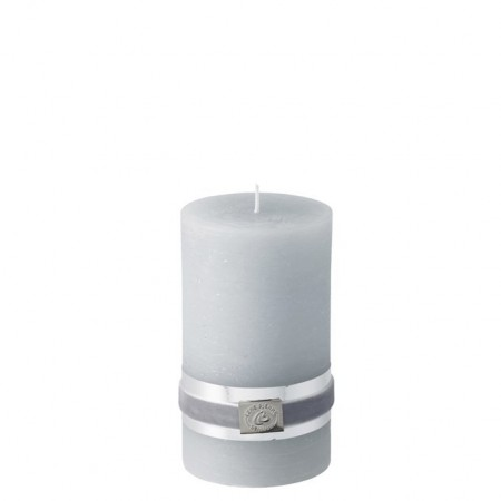 Lene Bjerre Candle Rustic Medium L.grey