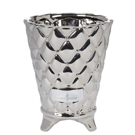 Lene Bjerre Flower Pot Precious Silver Medium 15cm