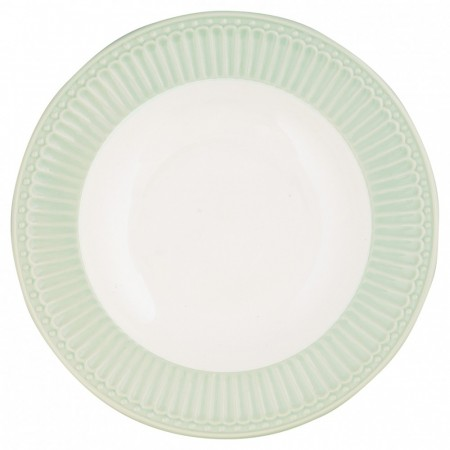 Greengate Plate Alice Pale Green