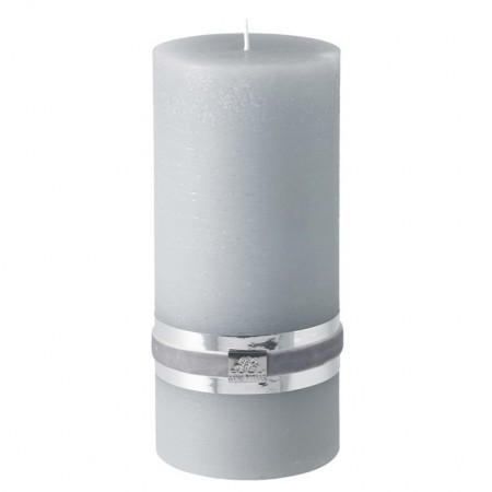 Lene Bjerre Candle Rustic X-large Light grey