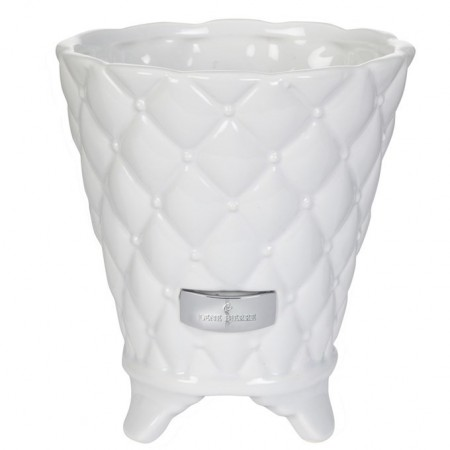 Lene Bjerre Flower Pot Precious White Large 18cm