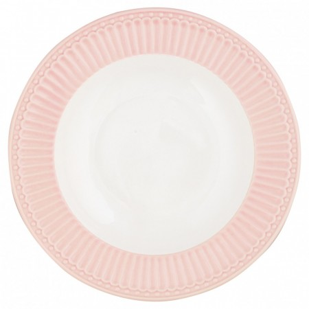 Greengate Plate Alice Pale Pink