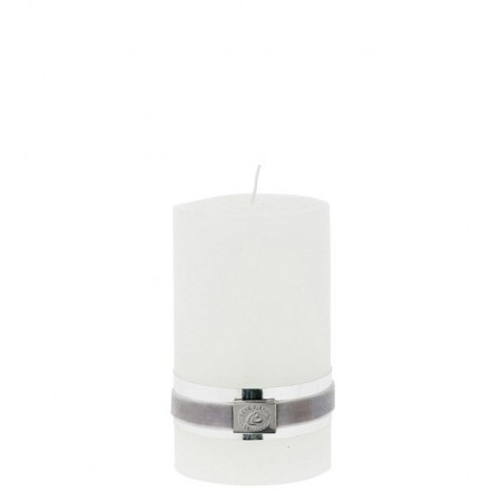 Lene Bjerre Candle Rustic Medium White