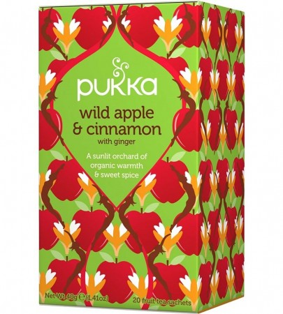 Pukka Te Wild Apple & Cinnamon
