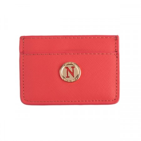 Nora Norway Card Holder Coral