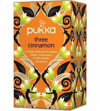 Pukka Te Three Cinnamon
