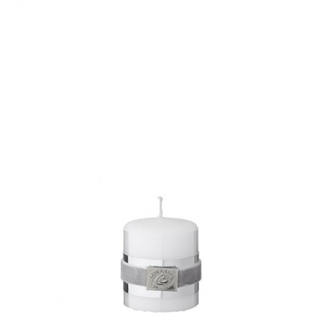 Lene Bjerre Candle Basic White Small