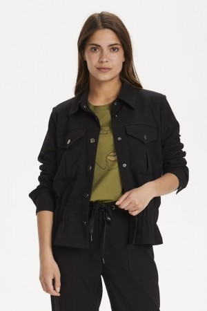 Kaffe Black Deep Jakke Blaze Jacket