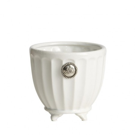 Lene Bjerre Flower Pot Notilde White Small