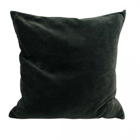 Mille Moi Putetrekk Deep Green 50x50 Matt Velvet W/piping