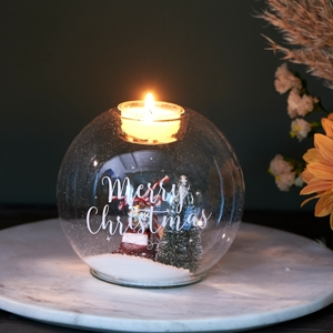 Riviera Maison Christmas World Tealight Holder M