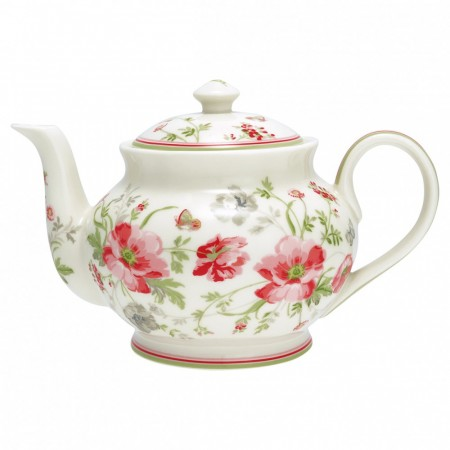 Greengate Teapot Round Meadow
